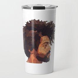 Afro man 2 Travel Mug