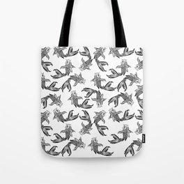 Koi Fish Pattern Tote Bag