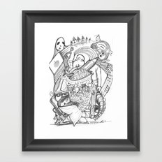 CV3 Framed Art Print