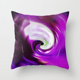"""""""New Wormhole"""" Print Throw Pillow"""