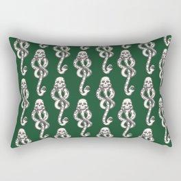 Dark Mark - Green Rectangular Pillow