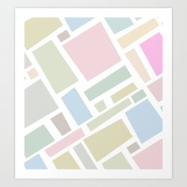B- Art Print