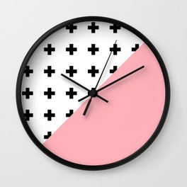 Memphis pattern 74 Wall Clock
