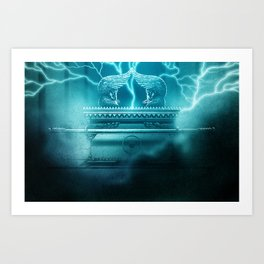 The Ark of the Covenant Art Print