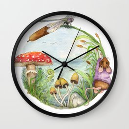 On the Pond Wall Clock