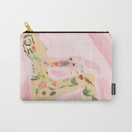 tattoo girl Carry-All Pouch