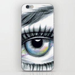Realistic Eye Drawing iPhone Skin