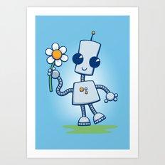 Ned's Flower Art Print