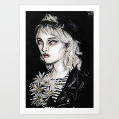 Sky ferreira no………………………..11 Art Print