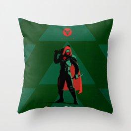 028 Hunter D2 Throw Pillow