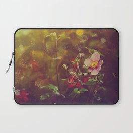 Textured Anemone (Cool Colors) Laptop Sleeve
