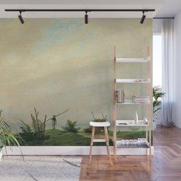 Caspar David Friedrich - Seashore with fisherman Wall Mural