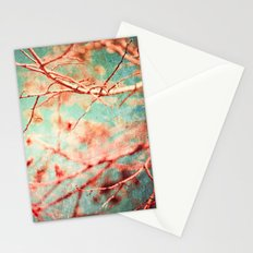 Textured Twigs In Winter Stationery Cards