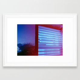 Venetian Sky Framed Art Print