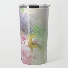 One Day at a Time Spring Flowers Travel Mug