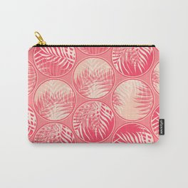 Pink Tropical Coins #society6 #decor #buyart Carry-All Pouch
