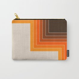 Cornered Golden Carry-All Pouch