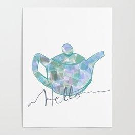 Blue Brew Poster
