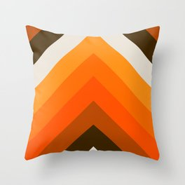 Golden Thick Angle Throw Pillow