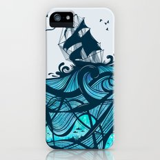 Upon The Sea iPhone (5, 5s) Slim Case