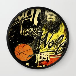 Teen Wolf Wall Clock