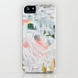 Emerging Abstact iPhone Case