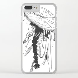 SLICE Clear iPhone Case