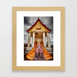 Somdet Temple Framed Art Print