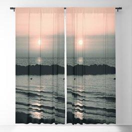 Sunset Ocean Bliss #4 #nature #art #society6 Blackout Curtain