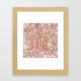 Turquoise Treasure Framed Art Print
