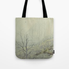 Into The Wolves' Den Tote Bag