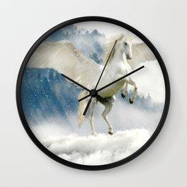 Pegasus Unicorn Born Again Wall Clock
