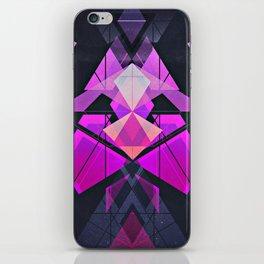 Galactic Rose iPhone Skin