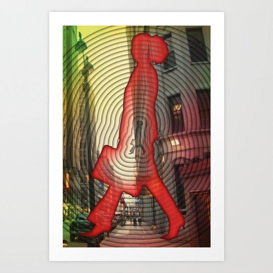 ripple Art Print