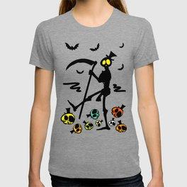Colorful skulls T-shirt