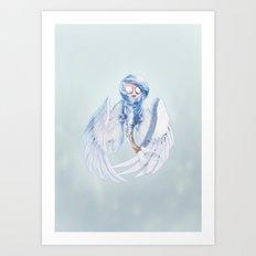 Siren Faerie Art Print