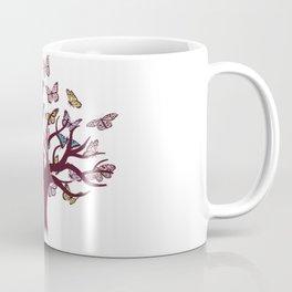 Butterflies tree Coffee Mug