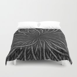 Wormy Digging Duvet Cover
