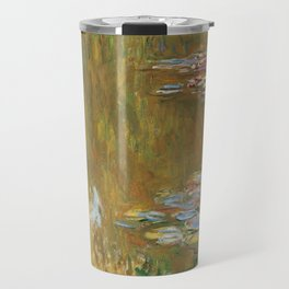 Monet, The Water Lily Pond 1917 Travel Mug