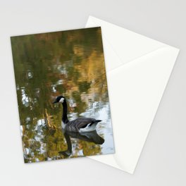Autumn Pond Stationery Cards