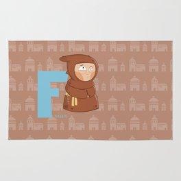 f for friar Rug