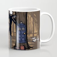 hallion Mugs featuring What's This? What's This? by Karen Hallion Illustrations