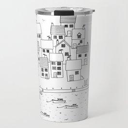 Harbour sketch Travel Mug