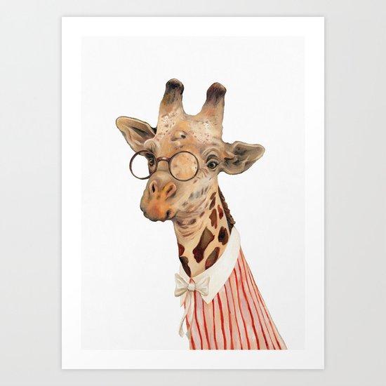 Giraffe by animalcrew