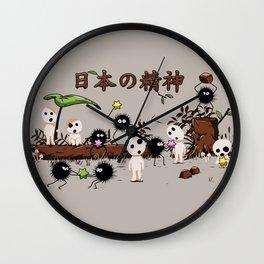 Kodamas & Susuwataris.2 Wall Clock