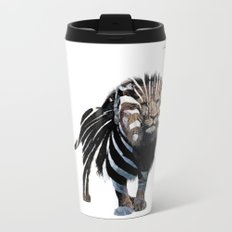 Lion spy II mission logo noir urban fashion culture Jacob's 1968 Paris Agency Metal Travel Mug