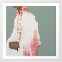herringbone Art Prints featuring Herringbone by ricola wille