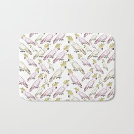 Australian Native Bird Print - Cockatoos Bath Mat