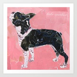 Boston Terrier 2 Art Print