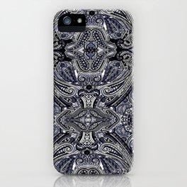 Blu Paisley 1 iPhone Case